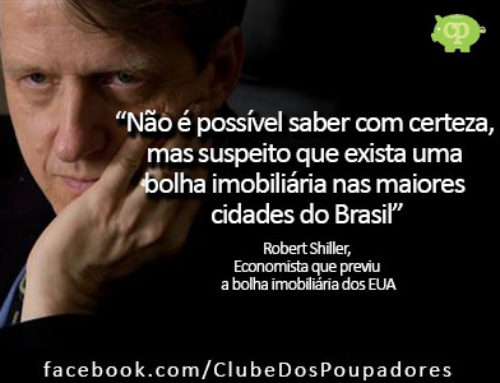 Economista prevê bolha imobiliária no Brasil