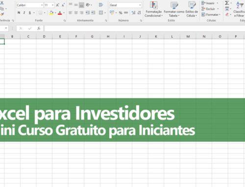 Excel para Investidores Iniciantes