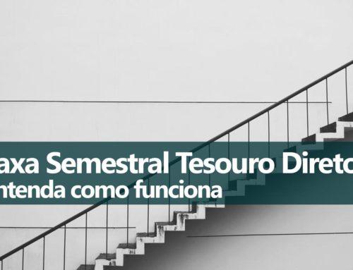 Cobrança Semestral Taxa Tesouro Direto BMFBOVESPA