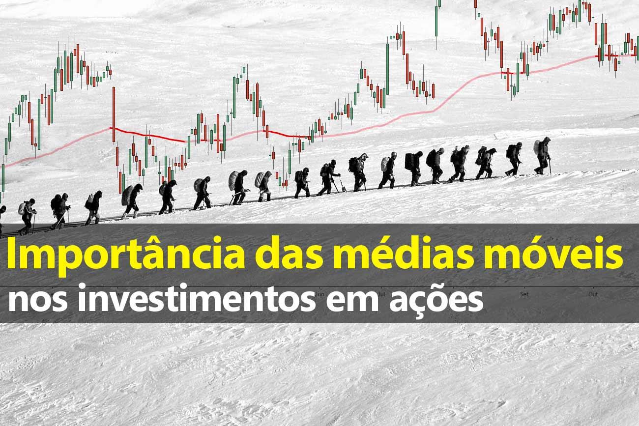 Importância das Médias Móveis no investimento em ações