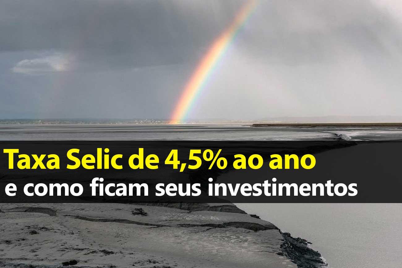 Queda da Selic: Como ficam os investimentos